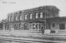 Bahnhof Barth um 1900