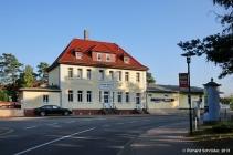 Bahnhofsgebäude Graal-Müritz von Straßenseite