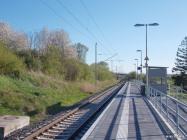 Neuer Bahnsteig - Haltepunkt Sagard - Bild 1