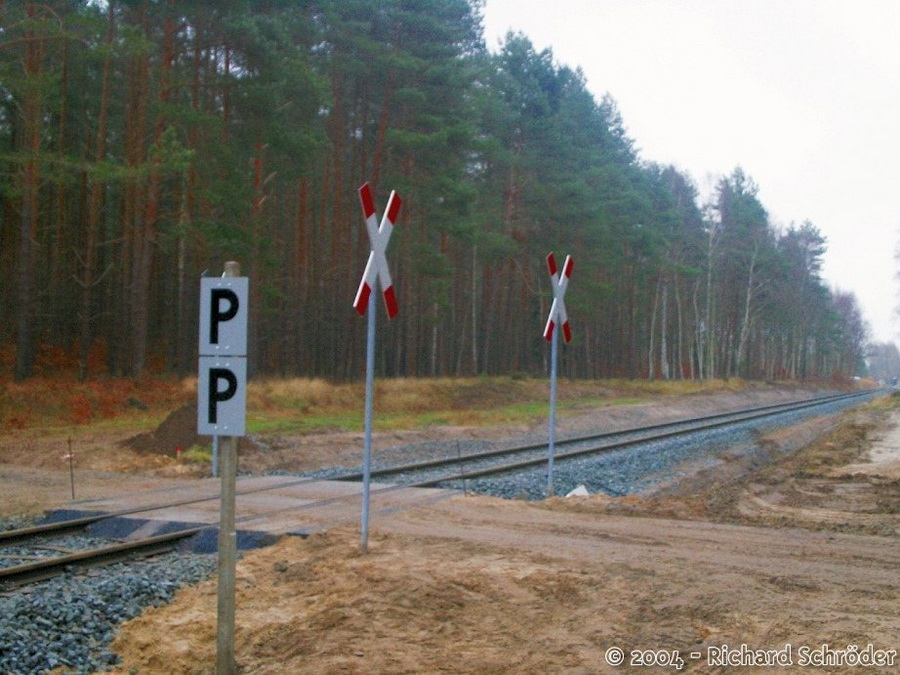 Bahnübergang Meiers-Hausstellen-Schneise 7