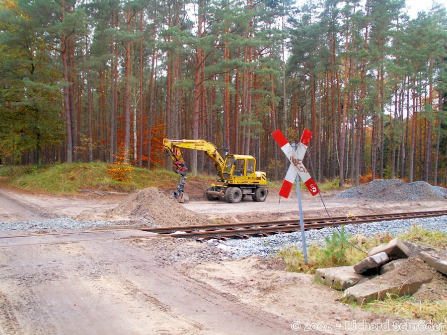 Bahnübergang Meiers-Hausstellen-Schneise 5