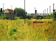 Rostock Güterbahnhof ohne Oberleitung