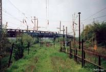 Ablaufberg im Rostocker Güterbahnhof im Jahr 1998