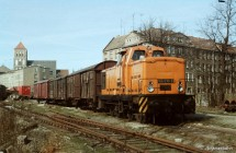Rostock Güterbahnhof - Laderampe