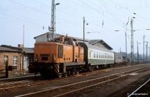 Rostock Güterbahnhof - Wagenausbesserung
