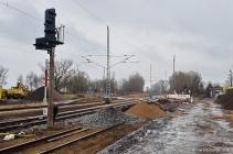 Bahnhof Rövershagen - Bauarbeiten März 2016 - Bild 1