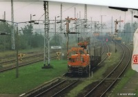 Rückbau der Fahrleitung in Velgast