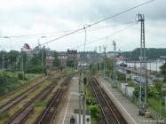 Bahnsteige vom Bahnhof Warnemünde Werft - Bild 2