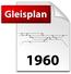 Gleisplan von 1960