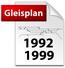 Gleispläne von 1992 und 1999