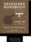 Kursbuch 1939