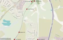Karte Abzweigstelle Riekdahl